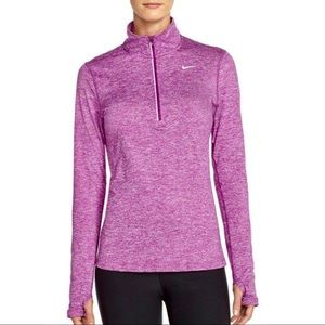 New! NIKE Element Dri-FIT Half Zip Performance Top